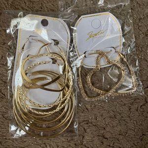 BRAND NEW • Fashion Hoop Earrings